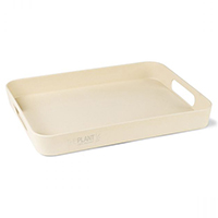 "16"" Gaia Bamboo Fiber Serving Trays"