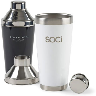 Aviana Darby Double Wall Stainless Cocktail Shaker - 20 oz.