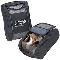 Golf Shoe Bags with Faux Fur Lining