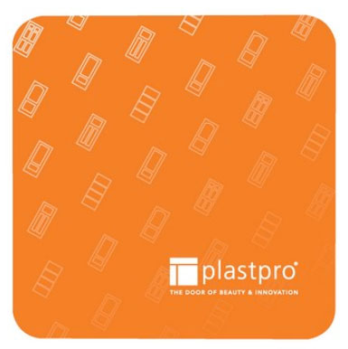 "3.5"" Square Light Weight 45 pt. Full Color Pulpboard Coasters"