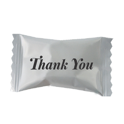 Buttermints with Stock Printed Wrapper – Thank You