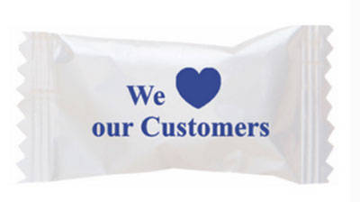 Buttermints with Stock Printed Wrapper – We Love Our Customers