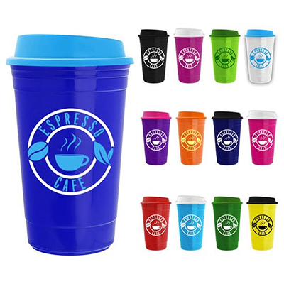The Traveler - 15 oz. Insulated Cups