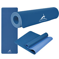 Two-Tone Double Layer Yoga Mats