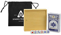 Games on the Go - Poker & Dice Sets