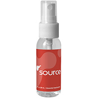 1 oz. Clear Sanitizer Spray Bottles
