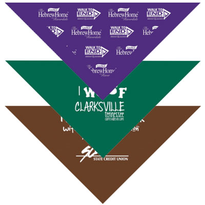 Pets & People Triangle Bandanas - Large