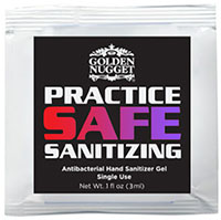 Sanitizer Gel Packets w/ Full Color Label