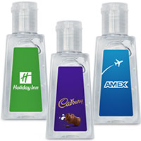 1 oz. Hand Sanitizer in Flip Top Bottles