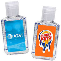 2 oz. Hand Sanitizer in Flip Top Bottles