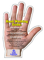 Hand Washing Tips Magnets