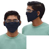 Cotton/Poly Face Covering (Blank)