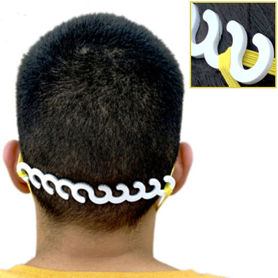 Ear Savers for Elastic Strap Masks