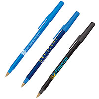 BIC Round Stic Antimicrobial Pens
