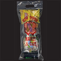 Resealable Clear Plastic Grab and Go Bags - 10 x 21