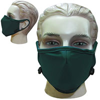 Face Masks with Adjustable Ear Cords – Blank
