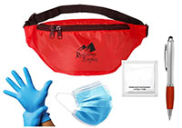 Super Shopper Kits - Mask, Waist Pack, Stylus & Sanitizer