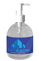 Gel Sanitizer in Pump Bottles - 15 oz.