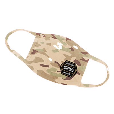 4 Layer Cotton Desert Camo Face Masks - USA Made