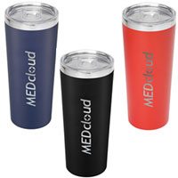 Thor Copper Vacuum Insulated Tumbler -  22 oz.