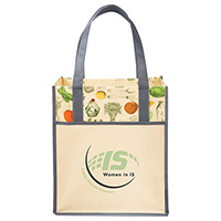 Big Grocery Vintage Matte Laminated Non-Woven Totes