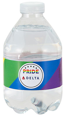 8 oz. Pride Bottled Water