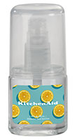 1 oz. Unscented Clear Sanitizer Spray in Oval Bottle