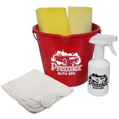 Bucket and Spray Bottle Cleaning Kits