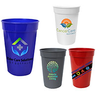17 oz. Antimicrobial Stadium Cups - Full Color