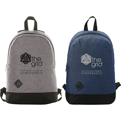 "Graphite Dome 15"" Computer Backpacks"
