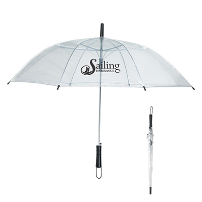 "Clear Umbrellas - 46"" Arc"