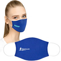 Flat Cotton Face Masks with Pocket for Filter Insert