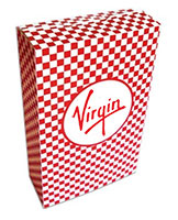 7.5 x 11 Checkered Closed Top Popcorn Boxes