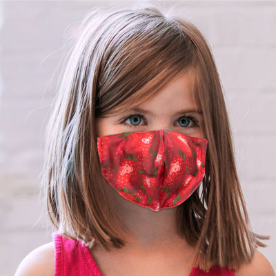 Children's Double Ply Structured Face Masks