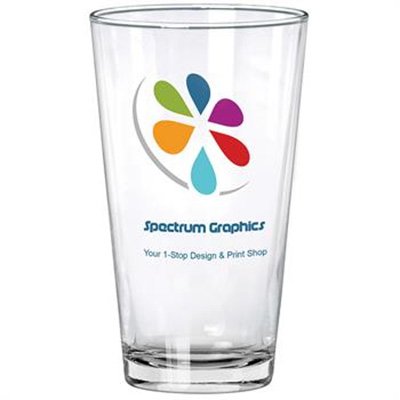 Clear Pint Glasses - 16 oz.