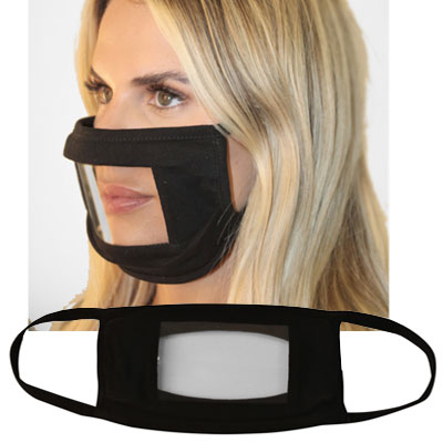 Masks with Anti Fog Window - Blank