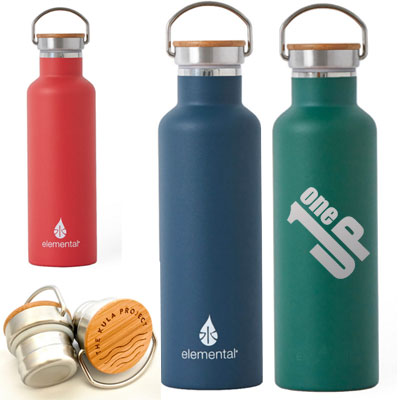Elemental Stainless Steel Water Bottles - 25 oz.
