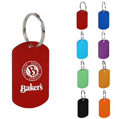 Dog Tag Key Chains