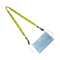 Double Clip Mask Lanyards - 3/4""