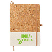 "Cork and Jute Bound Notebooks - 5"" x 7"""