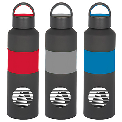Gripper Aluminum Sports Bottles - 25 oz.