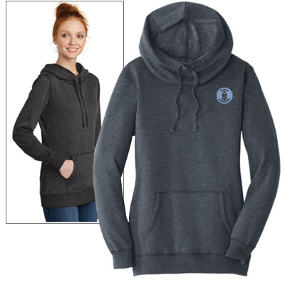 District Women's Lightweight Fleece Hoodies