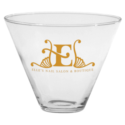 13.5 oz. Stemless Martini Glasses