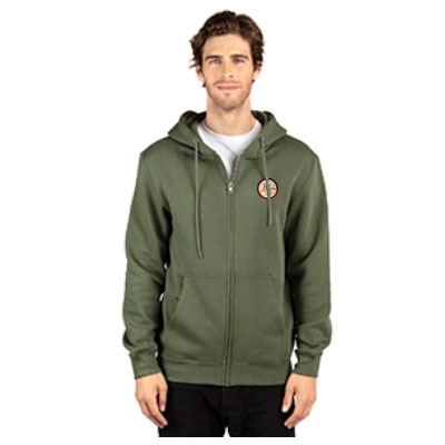Threadfast Apparel Ultimate Full Zip Hooded Sweatshirts