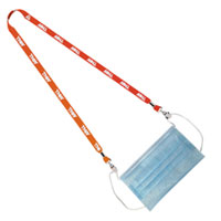 Double Clip Mask Holders - Dye Sublimated - 1/2""