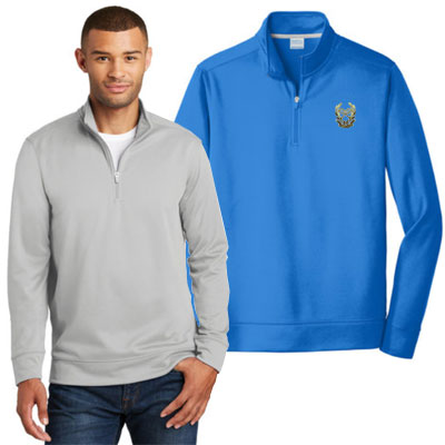 Port & Co Performance Fleece 1/4 Zip Sweatshirts