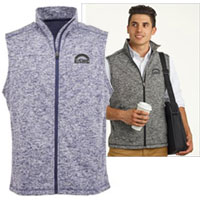J. America Cosmic Fleece Vests