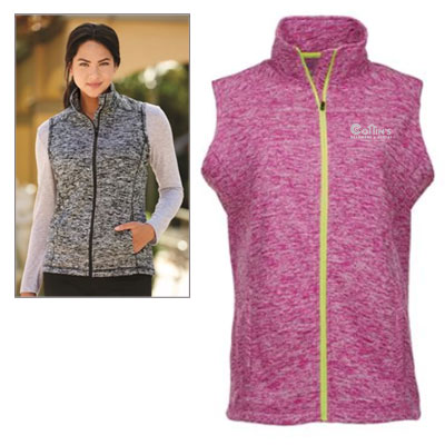 J. America Women's Cosmic Fleece Vests