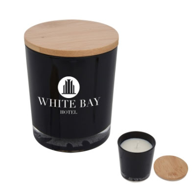 Soy Candles with Bamboo Lid
