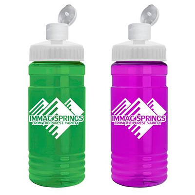 20 oz. Flip Top Dispenser Bottles